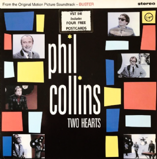 "Phil Collins - Two Hearts (12"") (VG/VG+)"